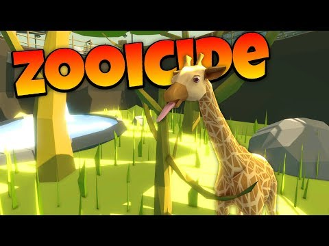 Zooicide - Zoo Animal Rampage Against Zookeepers! - Let's Play Zooicide Gameplay