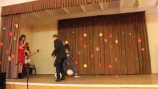 Осенний бал - Конкурс с шариками - 2014 - Школа 15 - Севастополь