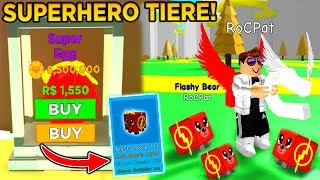 NEW * SUPERHERO ANIMALS * IN THE MAGNETIC SIMULATOR! * MEGA OP * (Roblox)