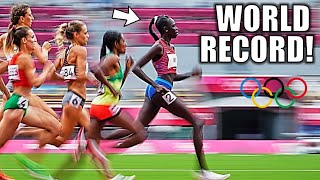 ATHING MU'S EPIC 800 METER WORLD RECORD RACE - Tokyo 2021 Olympic 800 Meter Finals
