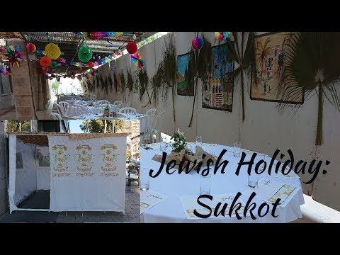 Jewish Holiday: SUKKOT 2018/ Vlog 15