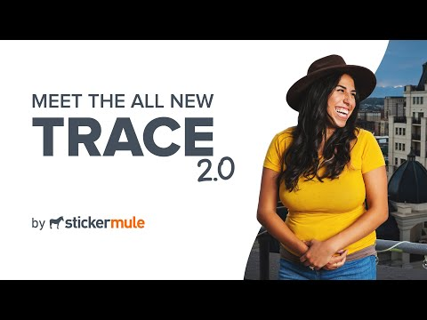 Trace by Sticker Mule #0