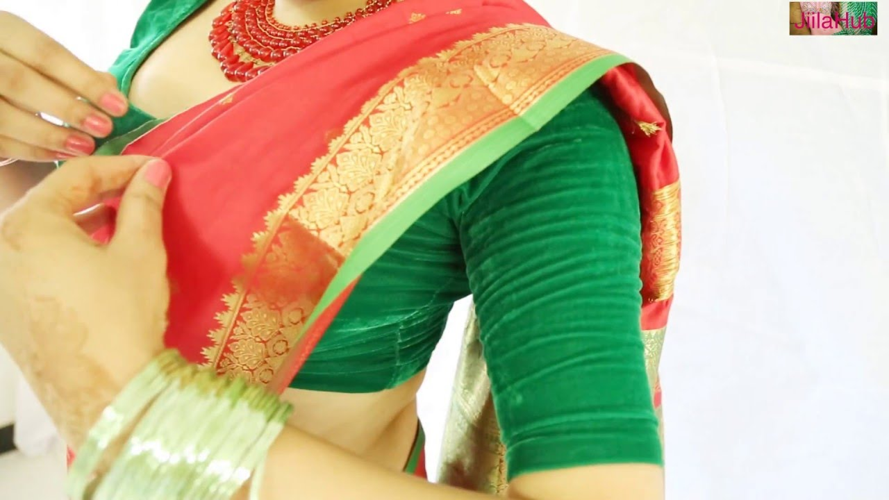 2019 year style- How to silk wear saree youtube