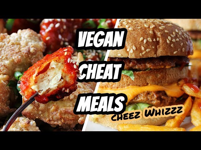 EPIC VEGAN CHEAT MEALS // WHAT I ATE IN A DAY 100 | Mary's