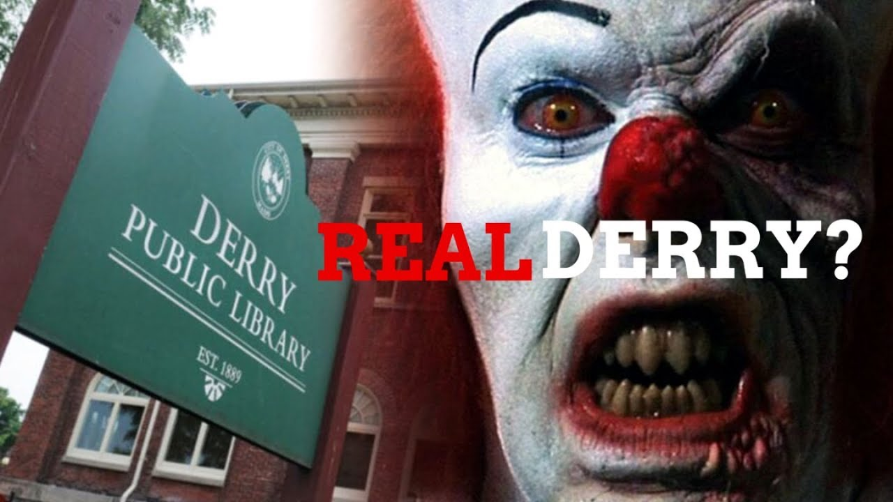 Download Finding The Real Derry, Maine? From Stephen King's IT and IT Chapter Two