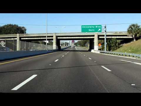 Arlington Expressway (FL 115) westbound