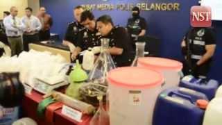 Selangor police seized 75kg of syabu worth RM7.6mil