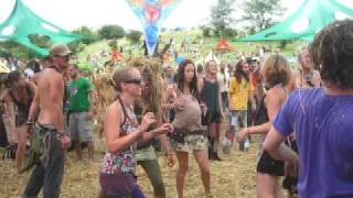 OZORA 2010 ~ ACID GOA-TRANCE DANCE EXPERIENCE w/ GREEN NUNS OF THE REVOLUTION