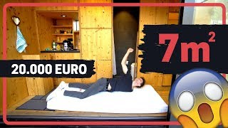 Room Tour Eines 20.000 Euro / 7m² Tiny House