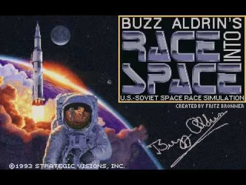 Buzz Aldrin's Race into Space (Strategic Visions / 1993)