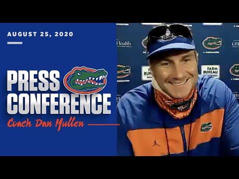 Florida Football: Dan Mullen Press Conference 8-25-20