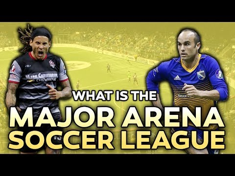 Landon Donovan and Jermaine Jones in MASL: What is the Major Arena Soccer League?