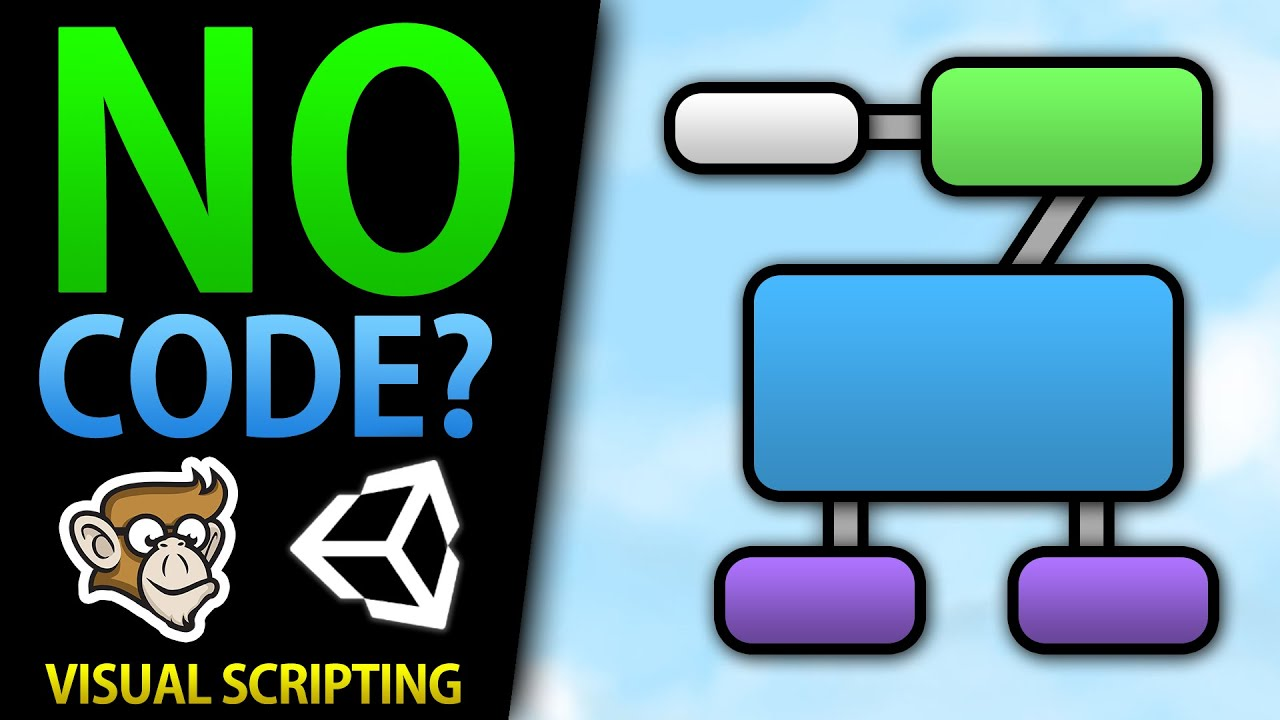 Make games without Code? Visual Scripting! (Unity, DOTS, ECS)