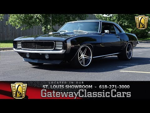 #7834 1969 Chevrolet Camaro Resto-Mod Pro-touring - Gateway Classic Cars St. Louis