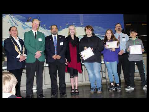 The Elks Americanism Essay and The Elks Eye Injury Prevention Poster Contests Awards 2019