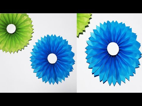 Easy Way to make Paper Flower | Origami Flower | Baby Craft