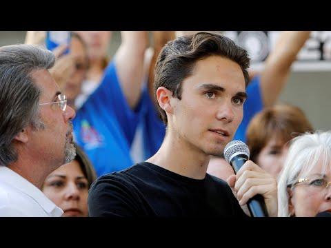 Stop going on vacation and fix gun laws, Florida student David Hogg tells Trump