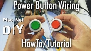 Repeat youtube video Pisonet DIY: Power Button Wiring Tutorial [Tagalog]