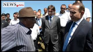 Նոր Կյանք եւ Վարդաքար գյուղերի բնակիչները կանգնել են վարչապետի ճանապարհին