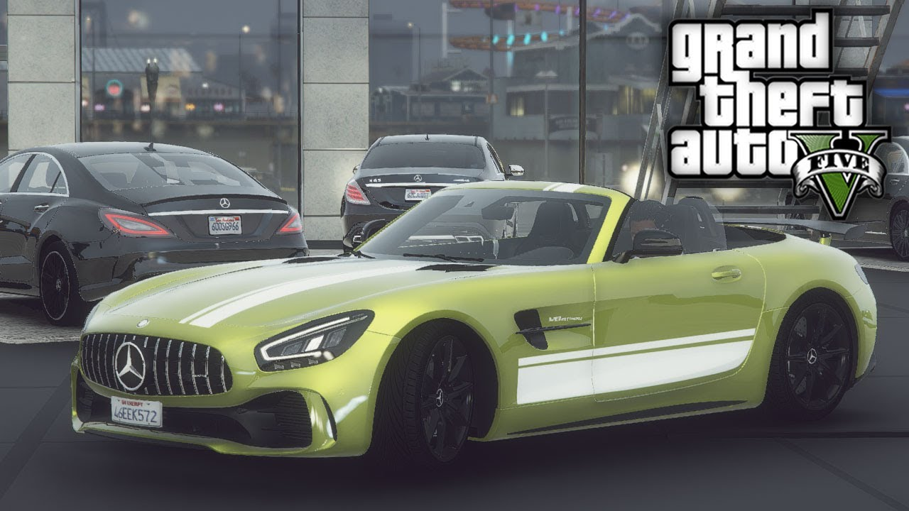 GTA 5 Real Hood Life #118 Mercedes-Benz Dealer! (GTA 5 Hood Life Mods)