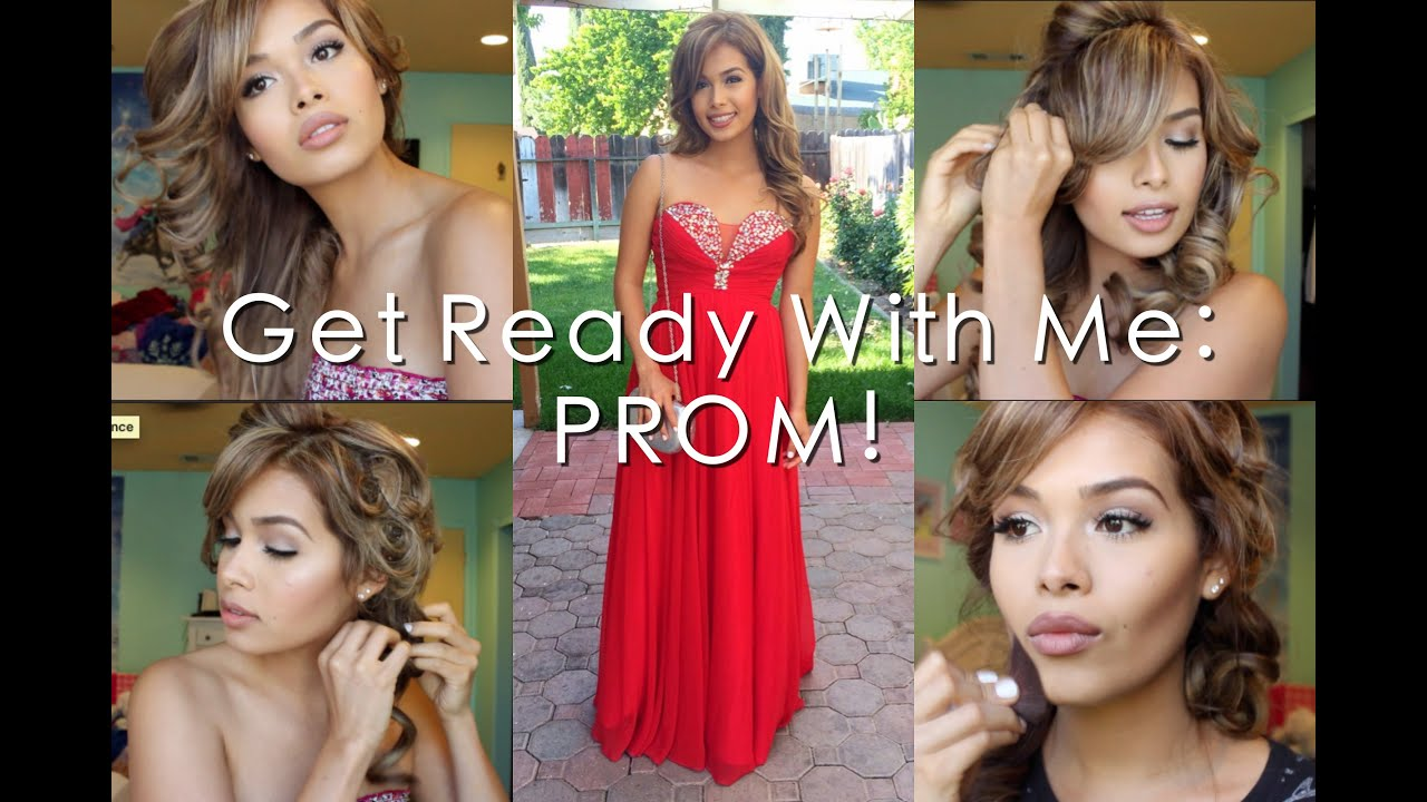 Get prom ready with me hair makeup dress - Get Prom Ready With Me Hair Makeup Dress 19