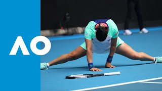 Ons Jabeur vs Caroline Wozniacki - Match Highlights (R3) | Australian Open 2020