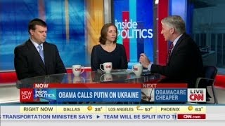 Inside Politics: Obama calls Putin on Ukraine