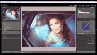Цветокоррекция и тонирование свадебной фотографии