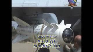 Su-30MK2 - Aviacion Militar Venezolana, lanzamiento de misiles Op. Urimare 01-09 GAC13
