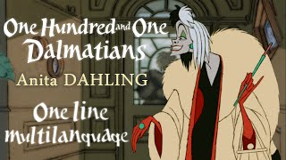 101 Dalmatians - Anita darling! One Line Multilanguage With S&T