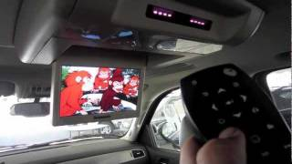 Getting To Know Your 2011 Chevrolet Tahoe:  How To Use The DVD Entertainment System