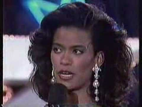 Miss usa 1991 interview competition 1 of 2 youtube
