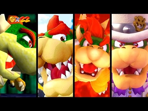 Thumbnail: Super Mario Evolution of BOWSER in 3D Games 1997-2017 (Odyssey to N64)