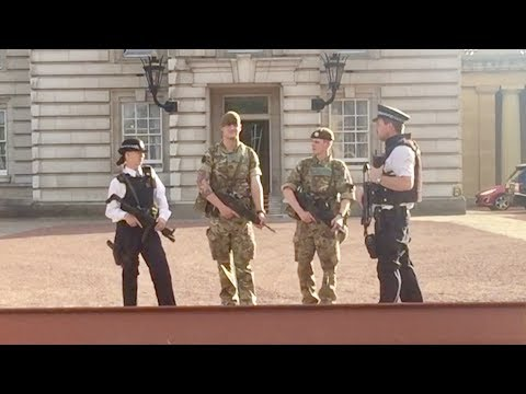 Military Joined Police When UK On Alert
