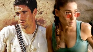 LARA CROFT (Tomb Raider) vs NATHAN DRAKE (Uncharted) - Super Power Beat Down (Episode 4)