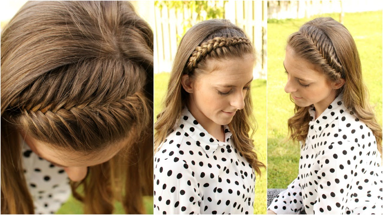 How to braid hair yourself step by how to 4 diy braided headbands braidsandstyles12 you solutioingenieria