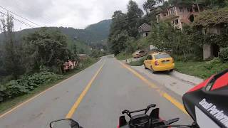 Africa Twin - Touring #5 - Artvin Cankurtaran (Best motorcycle riding route in Turkey)