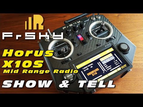 DutchRC - FrSky HORUS X10S 16-channel mid-range Radio - Show & Tell
