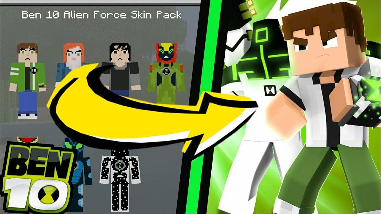 Ben 11111111 Skin Pack HD Para Mcpe 1111.11111111.1111.1111/1111.11 - Skin Pack do Ben 11111111 para  Minecraft PE