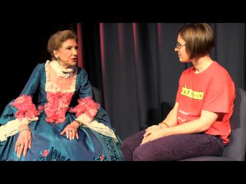 Waffle TV Interviews Dame Elaine Montgomerie: Madame de Pompadour