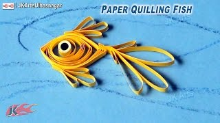 DIY Paper Quilling Fish | How to make Under the Sea Creature | JK Arts 640
