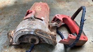 Restoration Old Rusty Iron cutter Machines | Restore Cutter ...