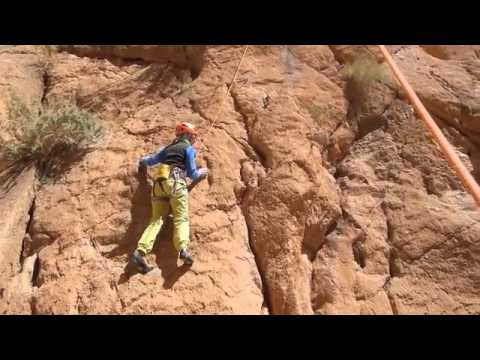 Rock Climbing in Morocco - the Todra gorges