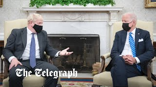 video: Hope fades for lone deal with America as Biden warns Johnson over Northern Ireland