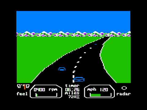 The Great American Cross-Country Road Race For The Apple II