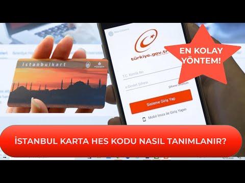 İstanbul Karta Hes Kodu Nasıl Tanımlanır? İstanbul Karta Hes Kodu Yükleme! #İSTA