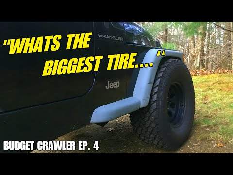 "Will 33"" TIRES Fit on a STOCK TJ WRANGLER? 