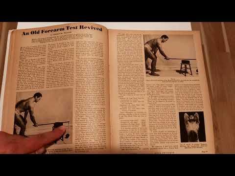 The Weaver Stick Lift, Your Physique magazine 1946 January Part B