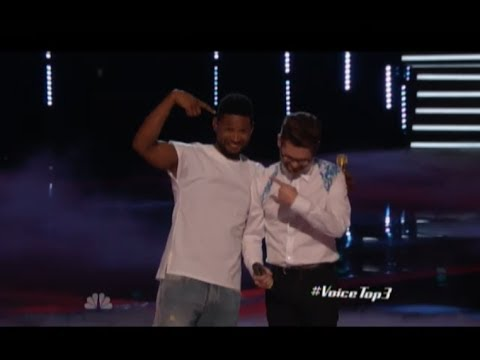 "NBC The Voice - ""Every Breath You Take"" By Usher And Josh Kaufman"