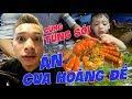 MixiVLOG #9 : Cùng Streamer Tùng Sói ăn thử Cua Hoàng Đế khổng lồ.